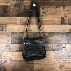 Fossil Leather Crossbody Back wallet bag